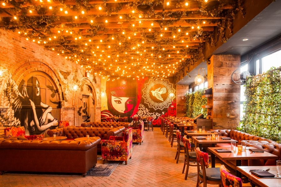 Vandal Street Art Meets Fine Dine In Nyc Restaurant