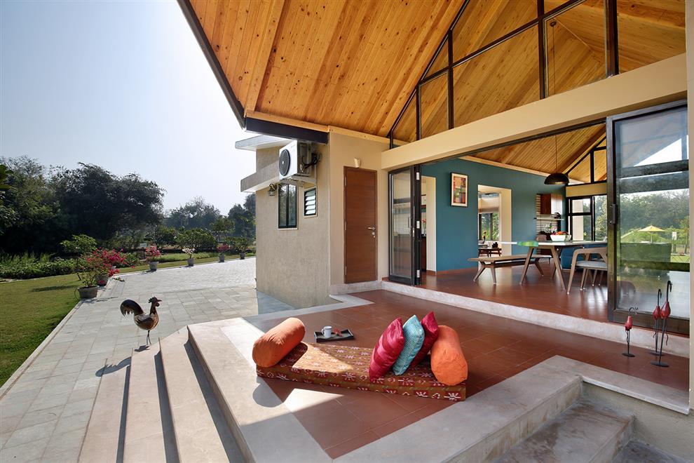 Silver oak estates sample home interior by s3d baroda for Architecture design for home in vadodara