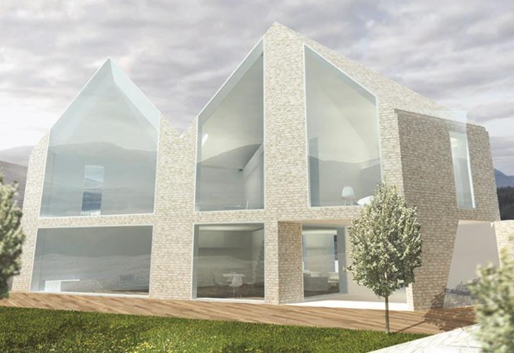 Shape shifting house by d haus responding to nature - Shape shifting house ...