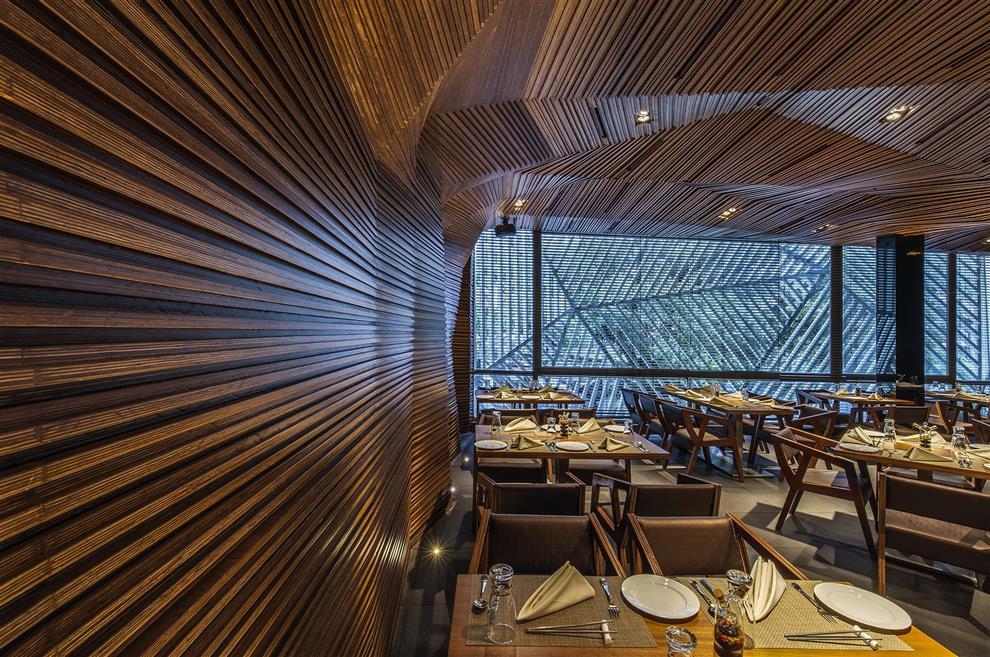 Auriga Restaurant Amp Lounge By Sanjay Puri Architects