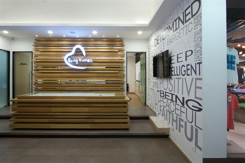 'Being Human' Office & Store: by The Ashleys, Mumbai