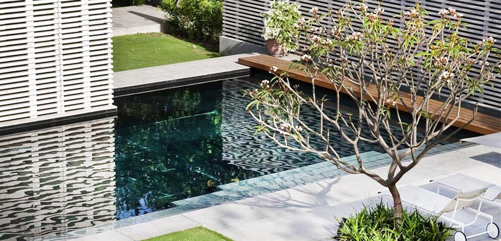 Tierra design with bedmar shi architects minimalist for Minimalist landscape design