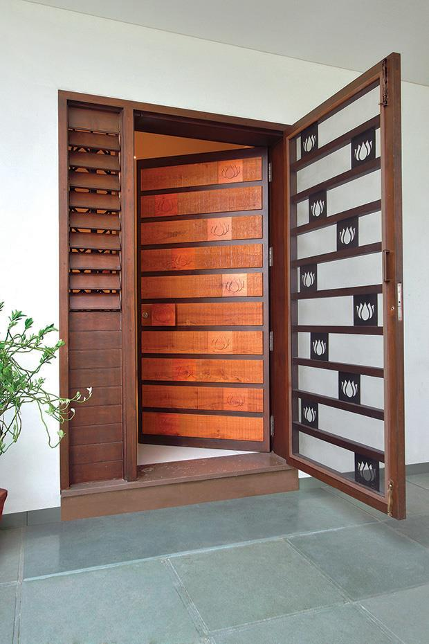 Hafele tfod profile of the week a t associates vadodara Front door grill designs india