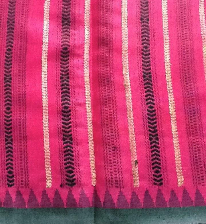 Eri Silk With Khneng Embroidery A Story From Meghalaya
