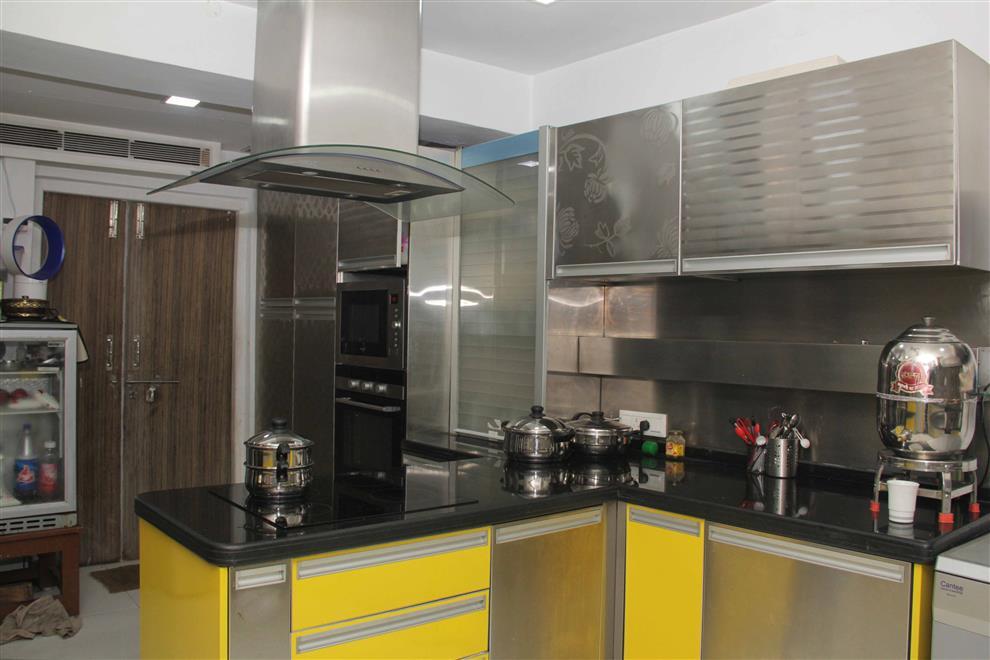 Stainless steel modular kitchen buy stainless steel for Best material for modular kitchen cabinets