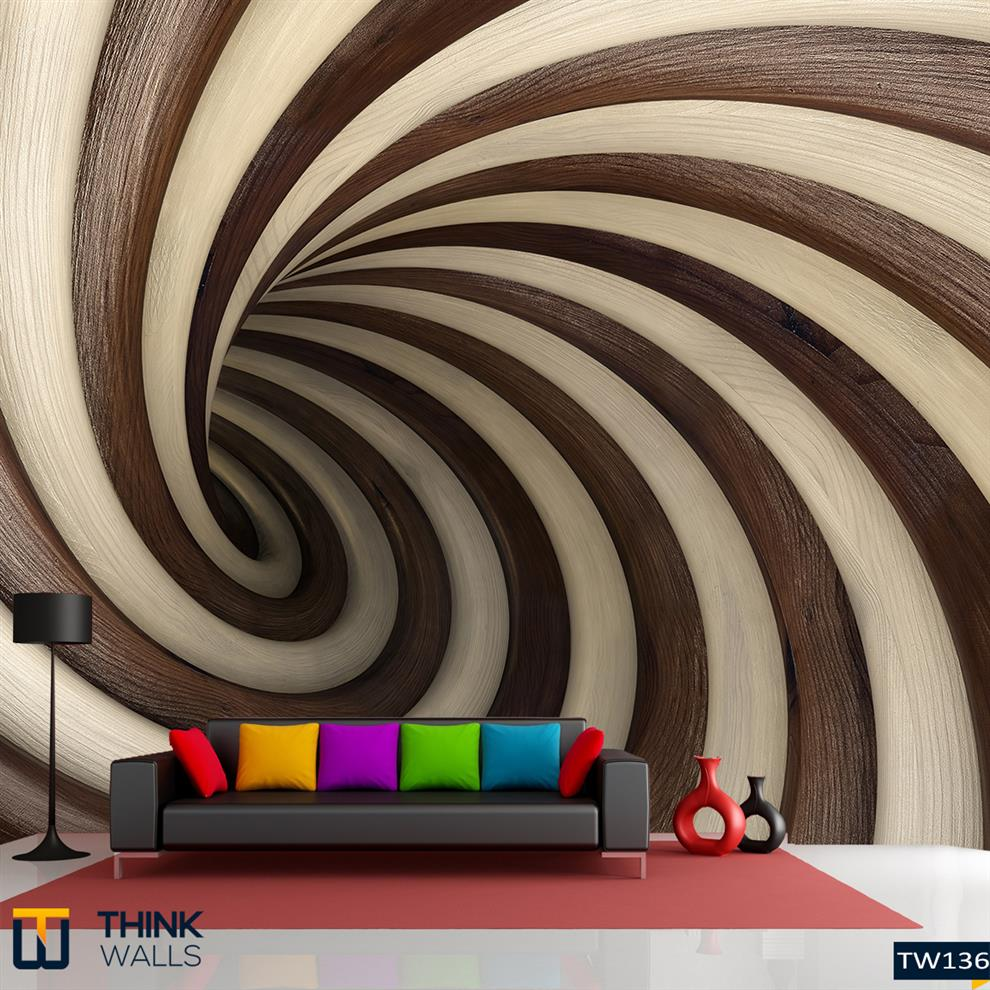 Abstract Wood Twisted Tunnel Buy Abstract Wood Twisted