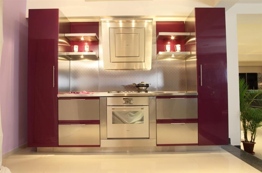 Stainless Steel Modular Kitchen Buy Stainless Steel Modular Kitchen