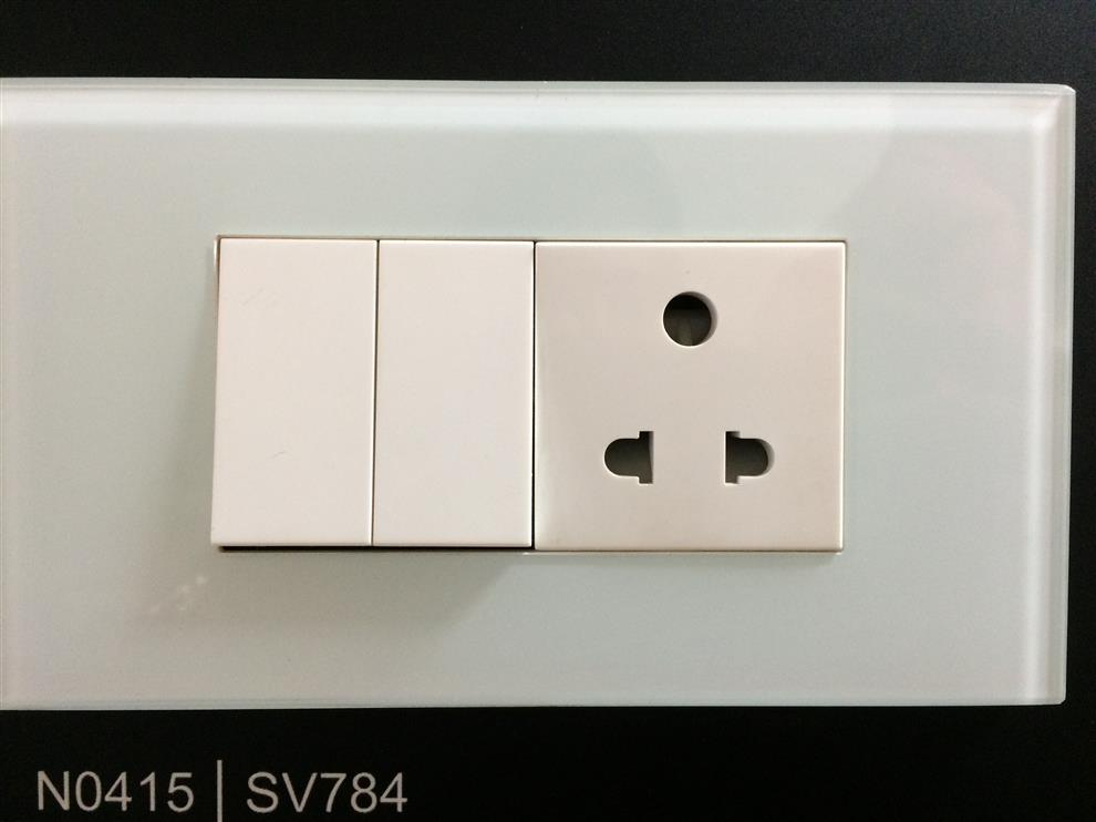 dbcb6971b19 GLASS WHITE PLATE AND ELECTRICAL SWITCHES - Buy GLASS WHITE PLATE ...