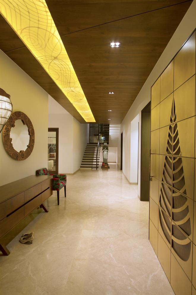 Foyer Ceiling Jobs : Yatin kavaiya jiten tosar neer bungalow foyer