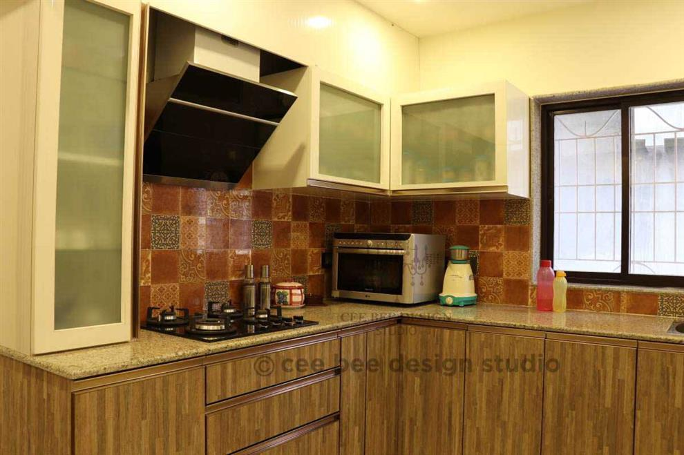 Ceebeedesign 3bhk Duplex Interior Design Kolkata Beautiful Modern Home Mita Das Kitchen Interior Kolkata