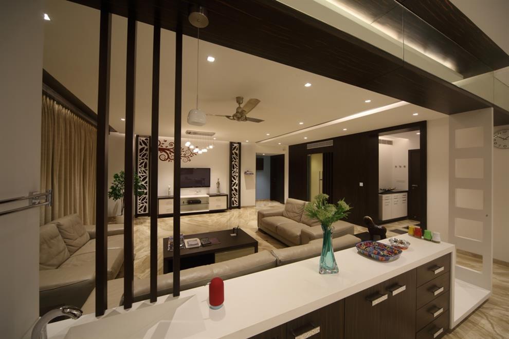 Samarth paradise living room by sanjay Kitchen design in punjab