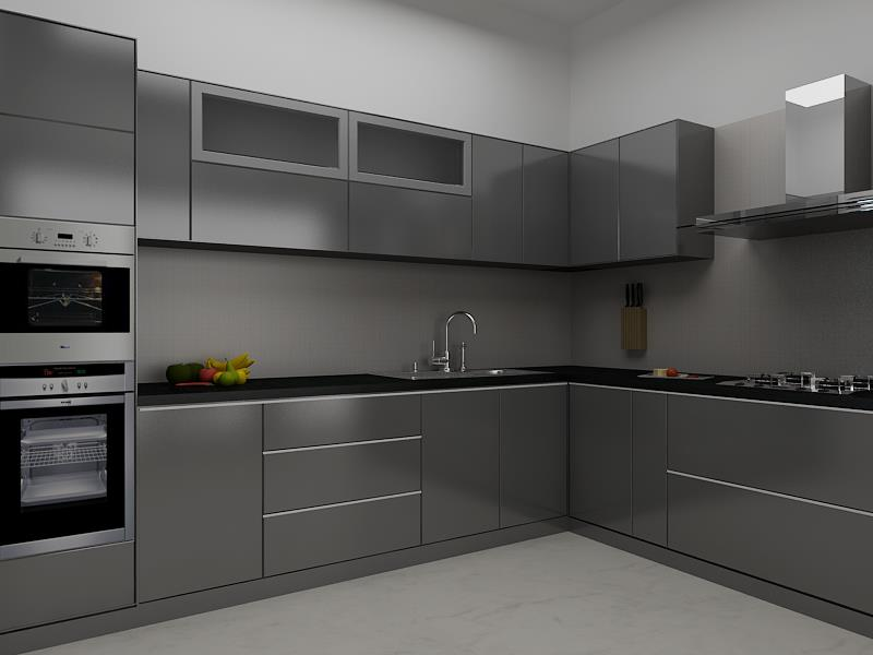 Designarc Interiors Mr Ram Full Home Interior Design Kitchen