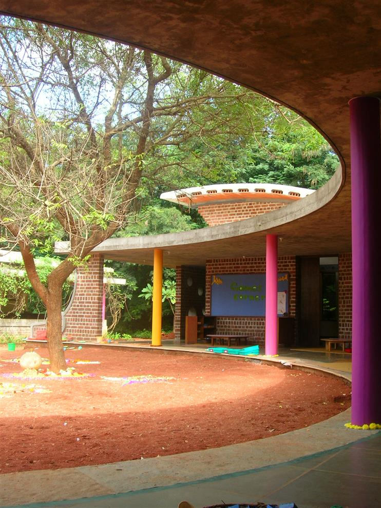 Path Architects And Planners Nandanam Kindergarten View