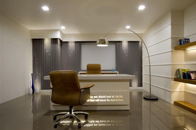 Office At Onyx Director S Cabin Vadodara By Narendra Joshi