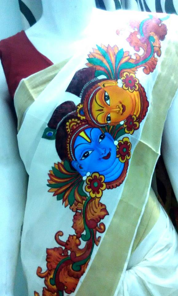 Fabric artists in india list best top famous fabric for Mural painting designs
