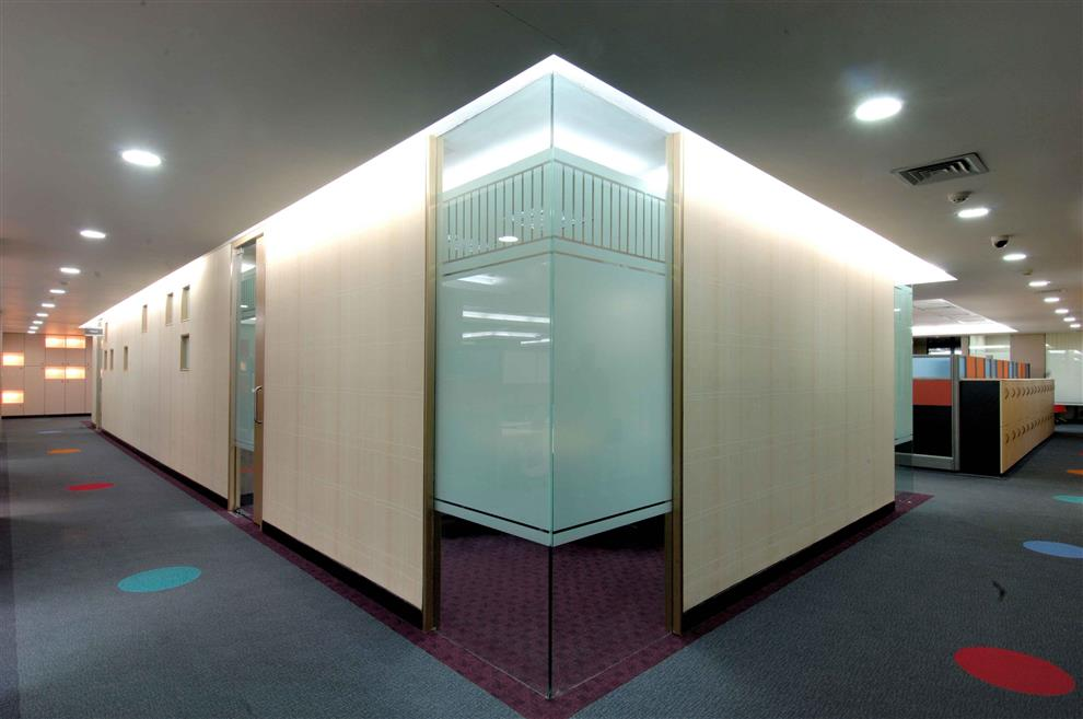 Communication Media Software Company Office Pune Cabins Turnkey