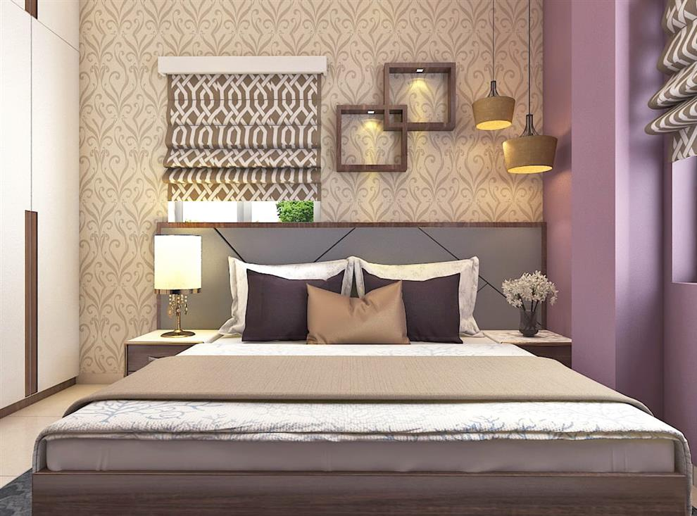 Best Luxury Interior Interior Design Of A 2bhk Flat Bedroom