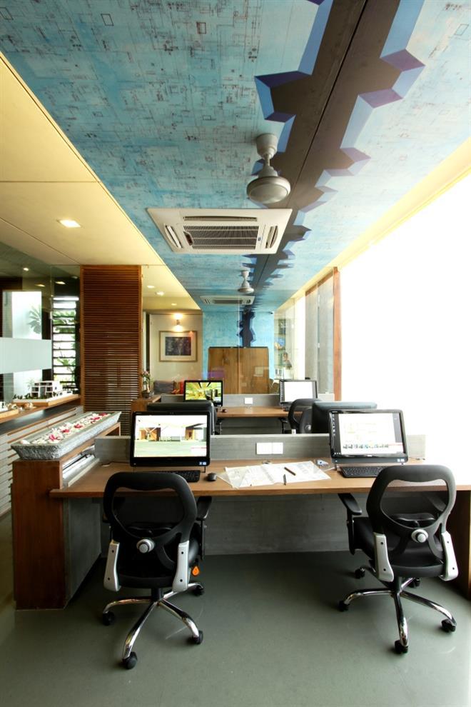 Modisrivastava Commercial Office Interior Vadodara