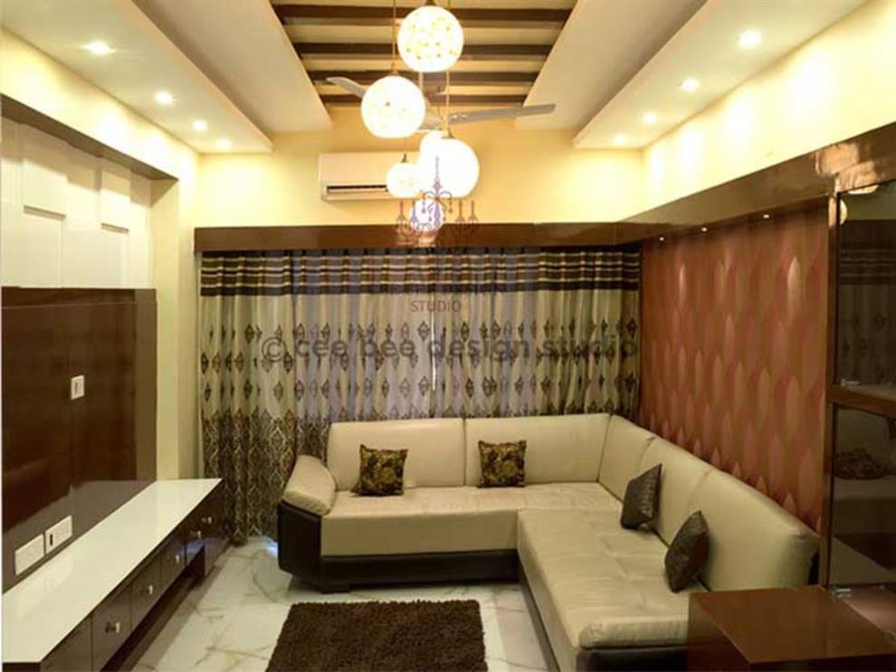 Ceebee Design Studio 3 Bhk Apartment Interiors In Mumbai Mr Sarkar Living Room Mumbai