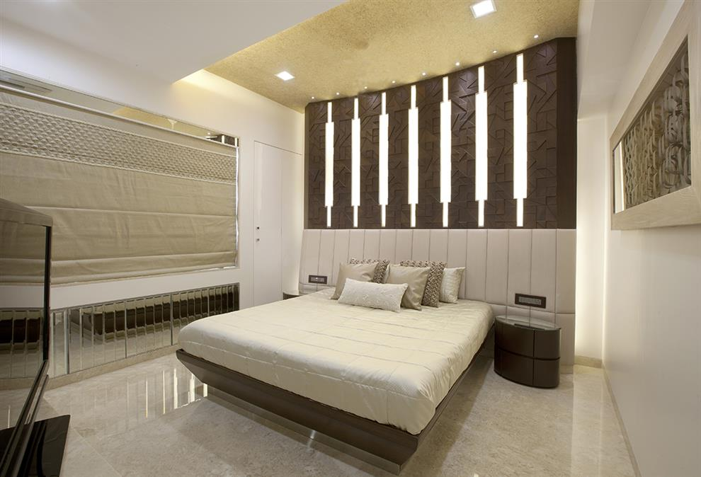 Behzad Kharas Parmar Residence Master Bedroom Mumbai