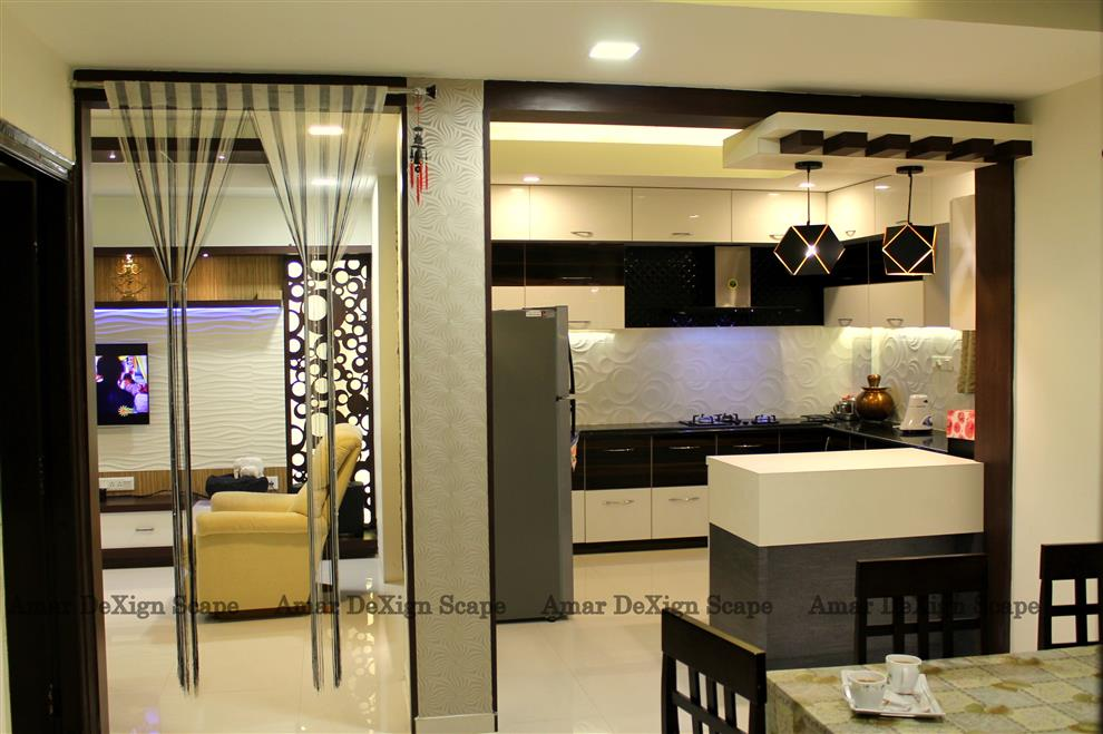 Mr Karthick Ponraj 3bhk Flat Interiors Paranava Bsr Gittaar Marthahalli Bangalore By Amardexignscape