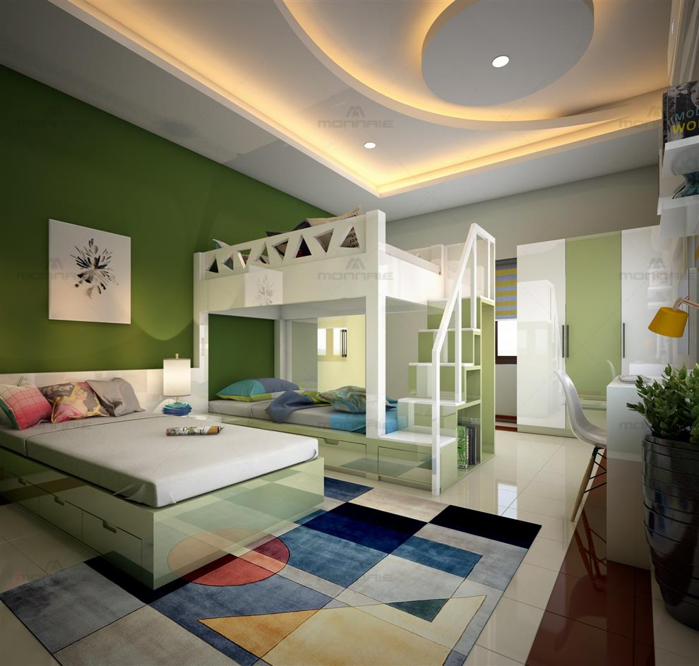 Monnaie Architects And Interiors Kids Bedroom Interior Kids Bedroom Interior Kerala