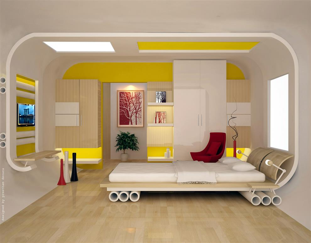 . Bedroom Designs   Bedroom Interiors Inspired from skating B by Preetham