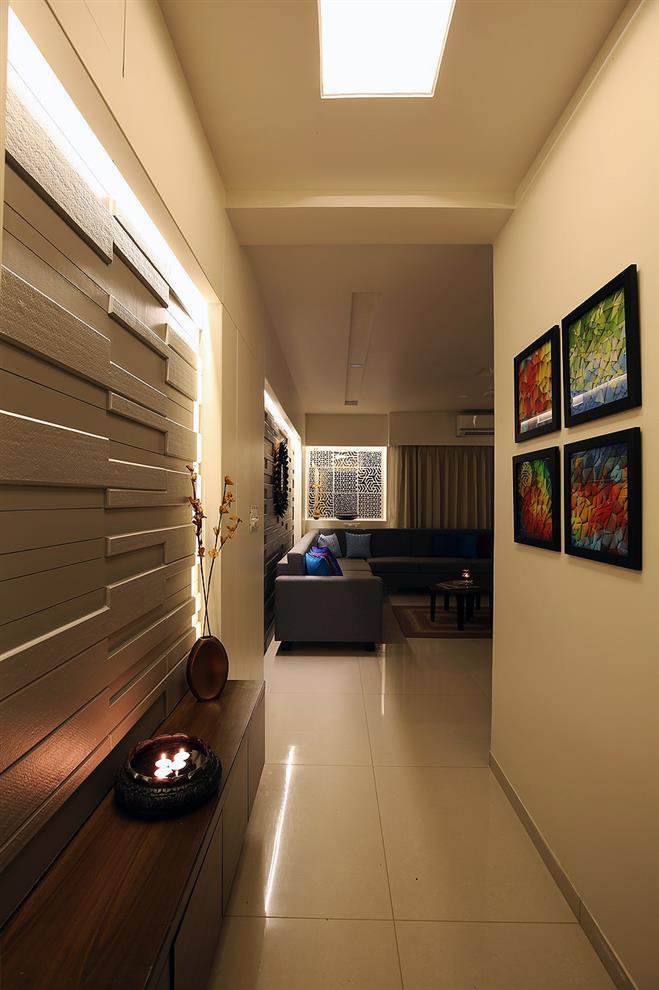 Foyer Designs Flats : Narendra joshi vadodara gujarat india