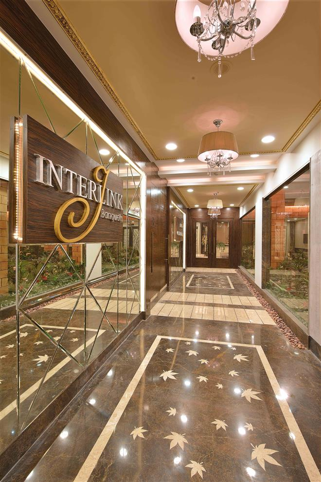 Ketan Sheth Interlink Banquets Entrance Lobby Vidya