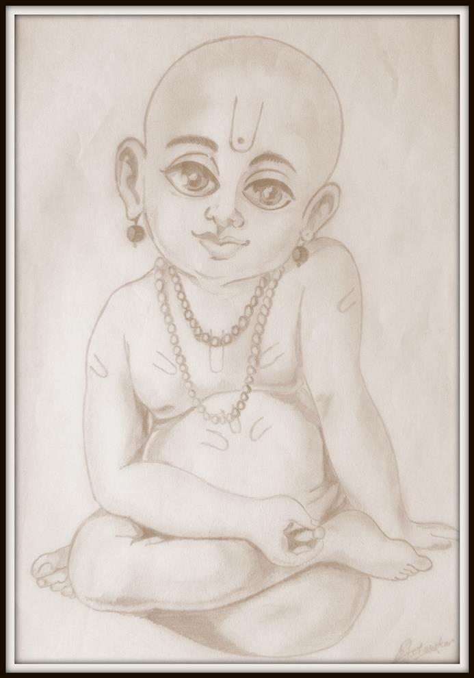 Prathamesh acharekar pencil sketches shree swami samarth