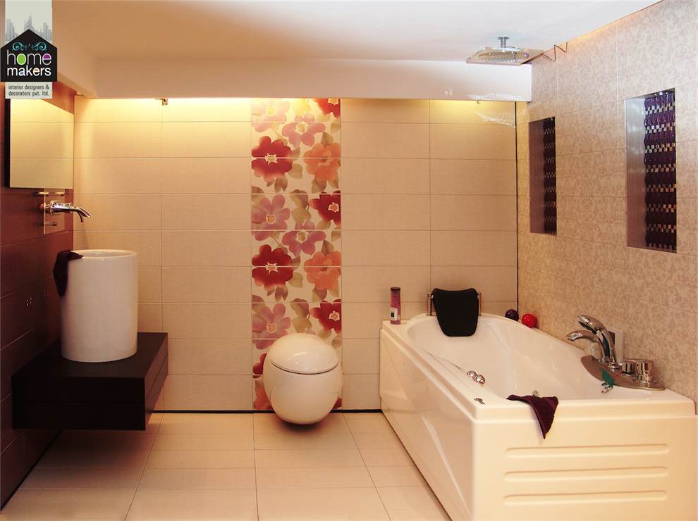 by the designers at home makers pretty washroom by home makers