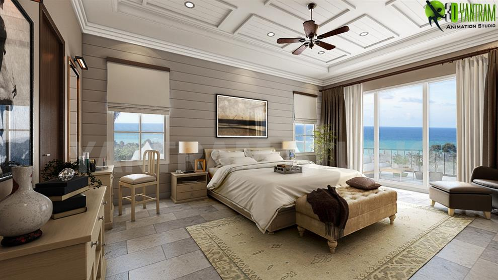 3D Interior Design Rendering Company Beautiful Beach Interior Room  Decorating Ideas For Your Inspiration By Yantram