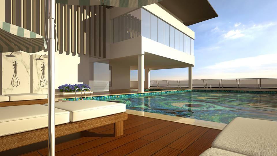 De panache salarpuria magnificia clubhouse terrace - Swimming pool builders in bangalore ...