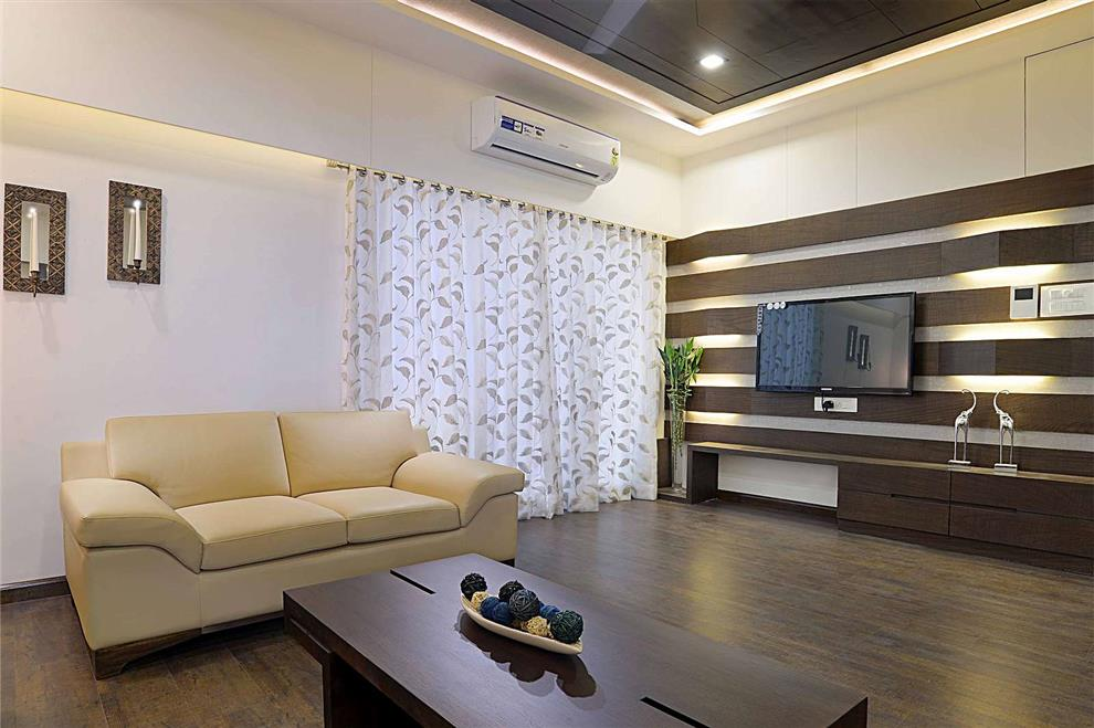 sample flat at vadodara living room living room decor feature wall rh tfod in