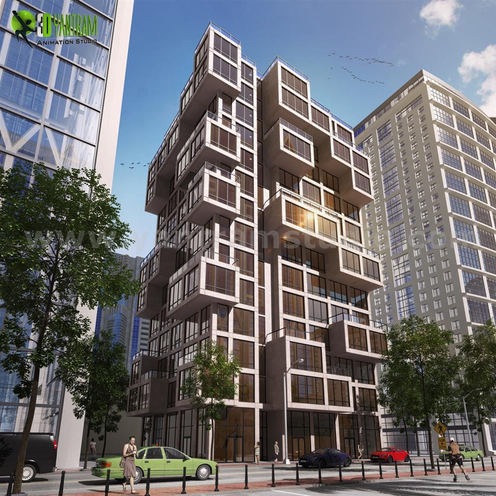 N Building Elevation Photos : Art installation contractors in india list best top