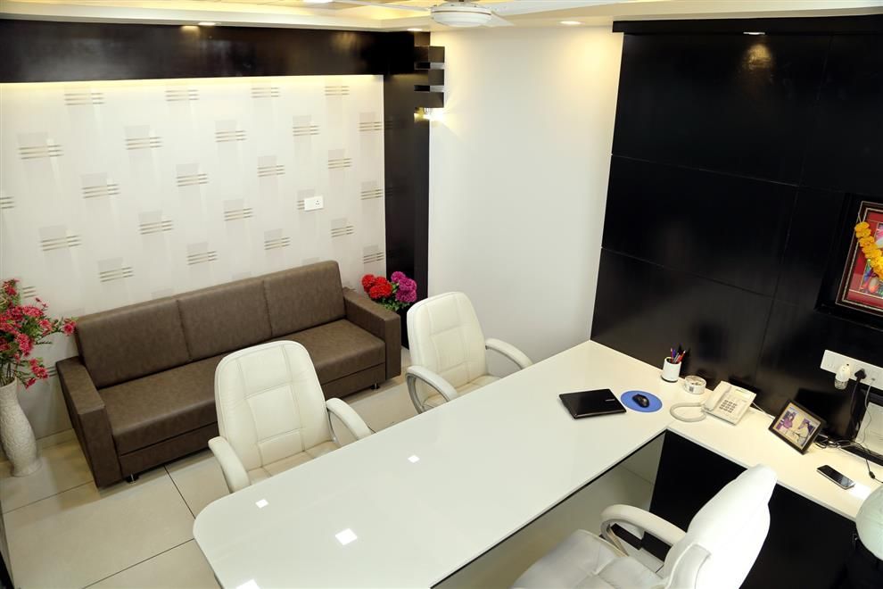Interior Of Transport Business Office Director Cabin New Vip