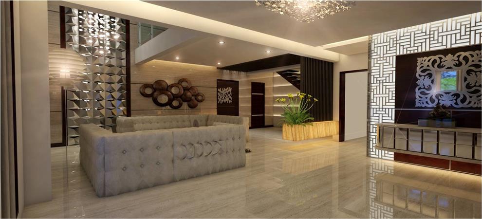 Rahul Menon Amp Ojas Chaudhari Villa At Ashlar Living Room