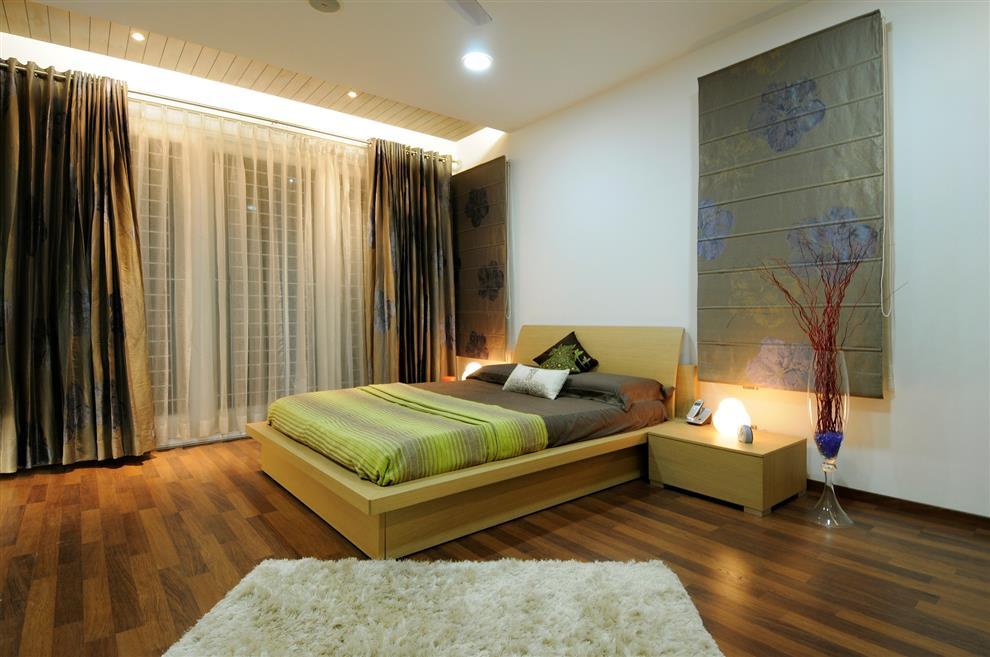 Contemporary villa interior jubilee hills hyderabad by for Villa interior design in hyderabad