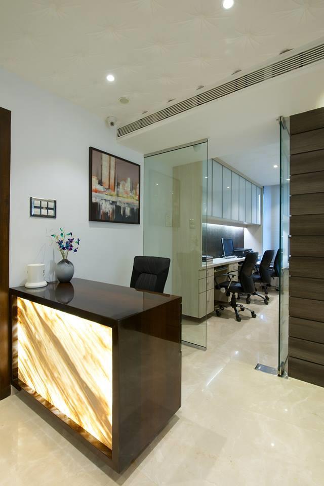 Prasadh Jd N Construction Company Reception Area Hyderabad
