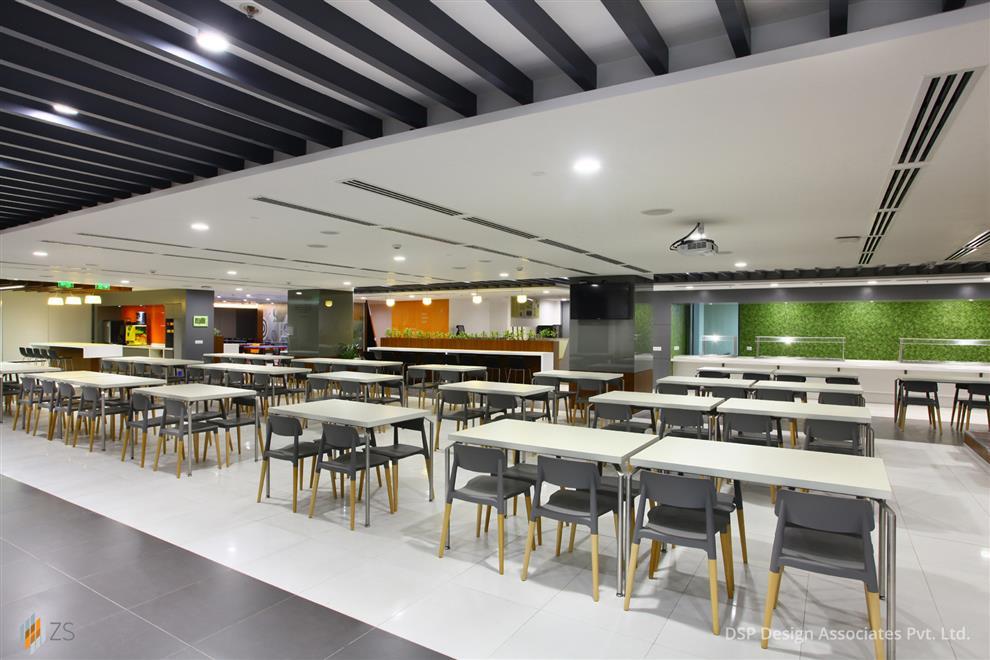 Yatin Patel Zs Associates Cafeteria Gurgaon