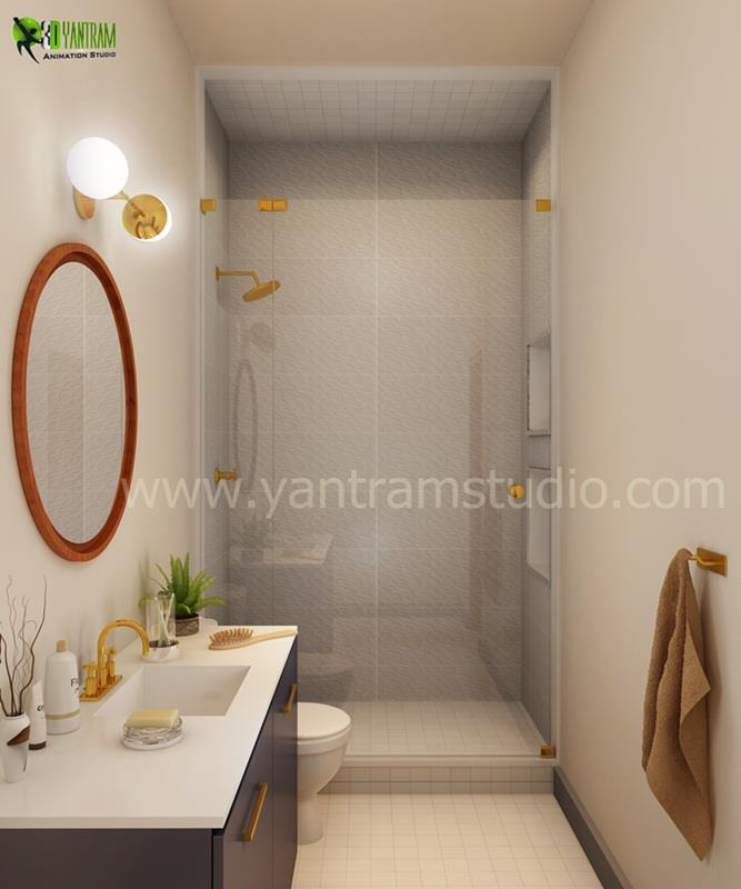 Master Bathroom Interior DesignMaster Bathroom Design By Yantram Extraordinary Best Interior Design Firms Collection