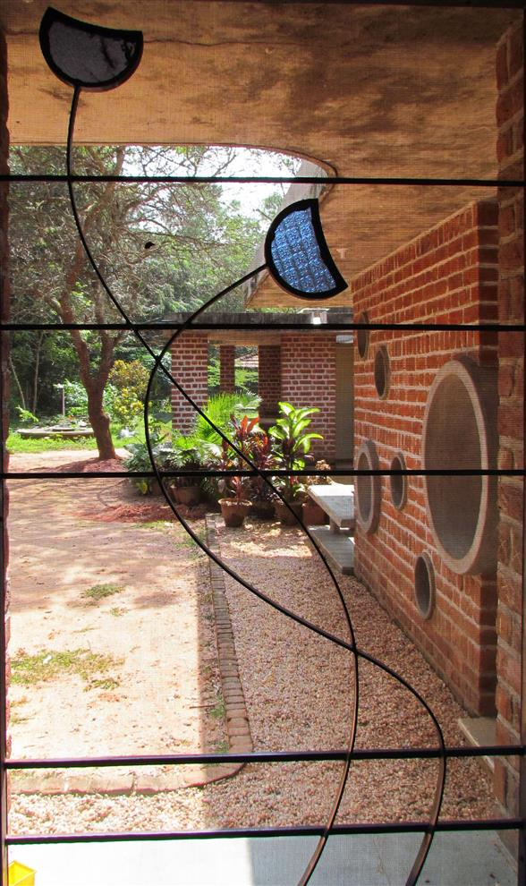 Path Architects And Planners Nandanam Kindergarten View From The Classroom Window Auroville