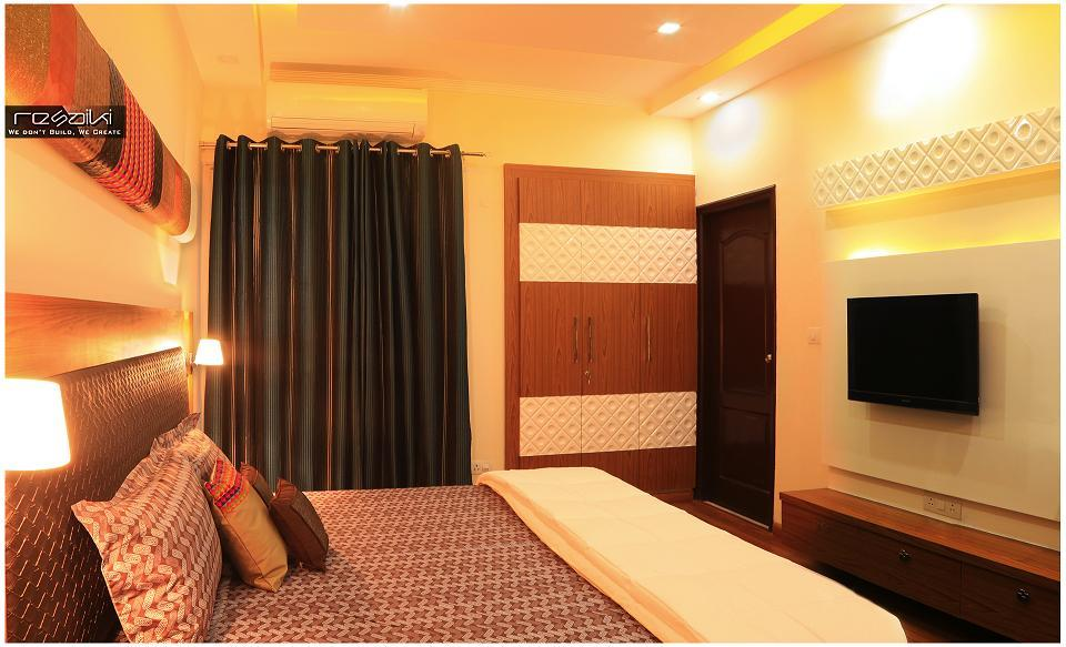 Nikhil aggarwal resaiki interiors guest bedroom delhi ncr for Bedroom designs delhi