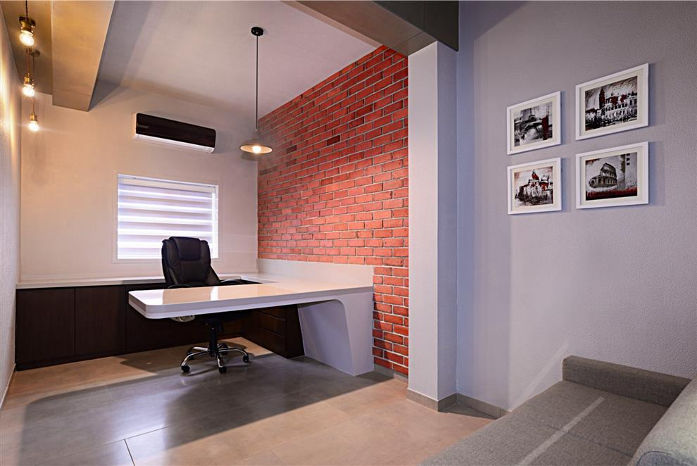 Small Office Interior 08 By Chirag