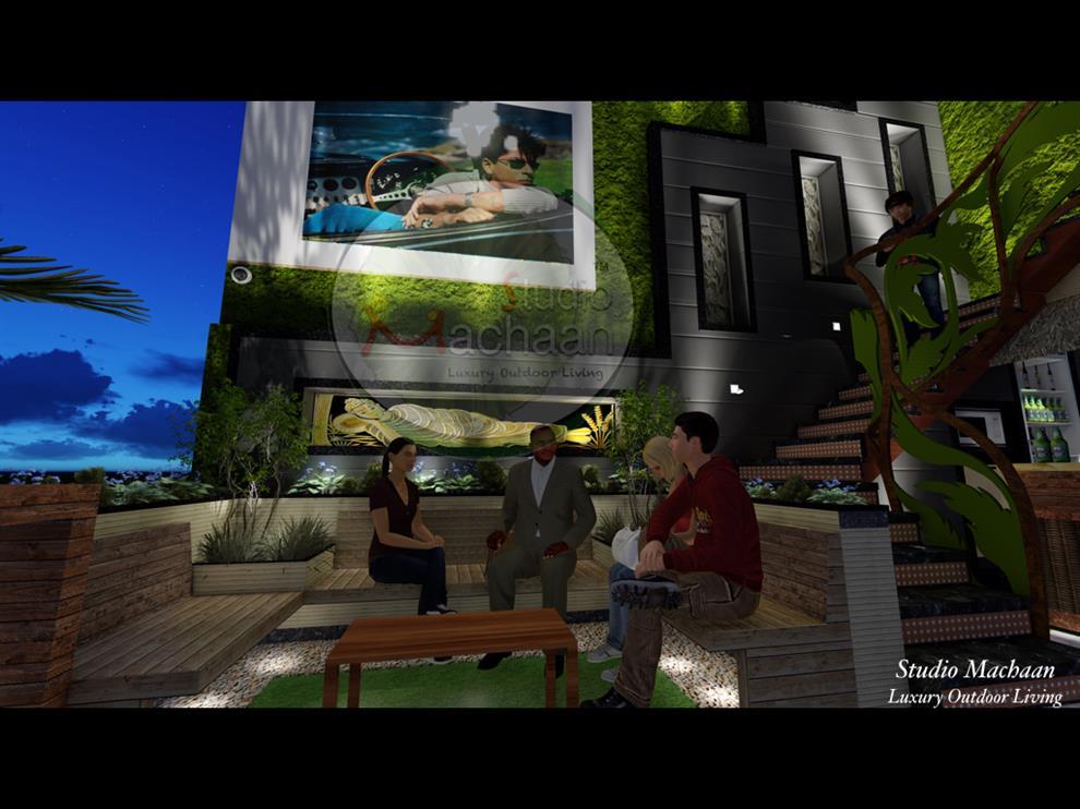 Studio machaan terrace garden designers outdoor products for Terrace 6 indore address