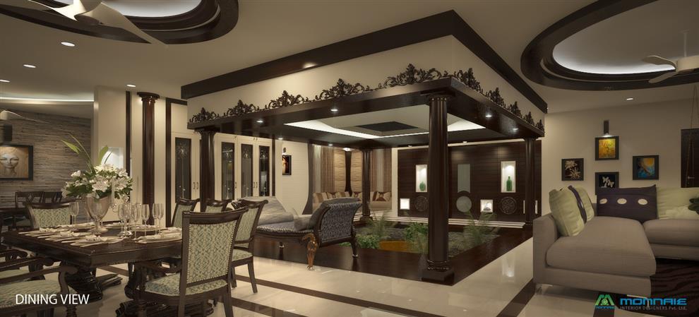 Premdas Krishna Indian Contemporary Interior Design Common Area