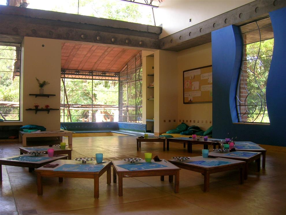 Path Architects And Planners Nandanam Kindergarten Classroom Auroville India