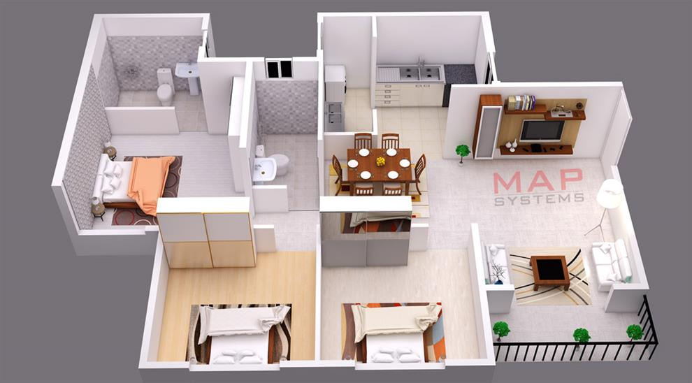 house plan design 3d