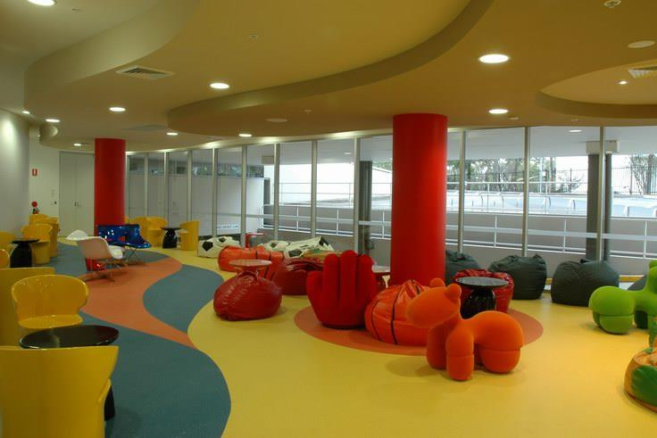 Chill Out Area s. p. jain school of global management - sydney campus-chill out