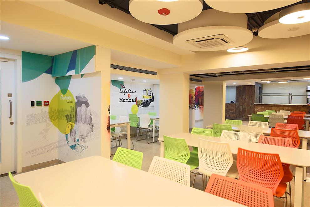 Business Solutions Company OfficeCafe interior FitoutMumbai